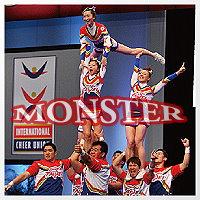繃帶下的驕傲!台灣第一競技啦啦隊──MONSTER